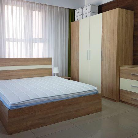 Dormitor Salonic Bardolino, Dulap in 4 usi