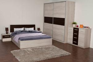 dormitor scarlet