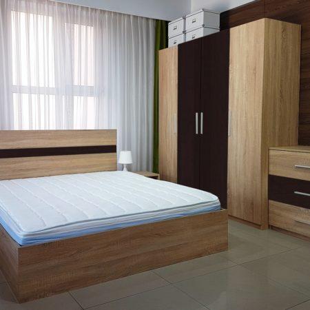 Noptiera Salonic, 40x40x40 cm