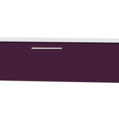 Corp suspendat 120 cm, Alb/Violet