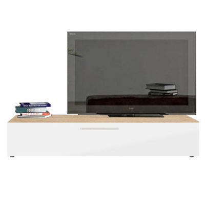 Modul living ,120 cm Sonoma / usa Alb