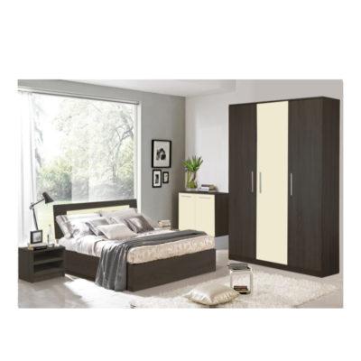 Dormitor Sonoma Wenge, Dulap in 3 usi
