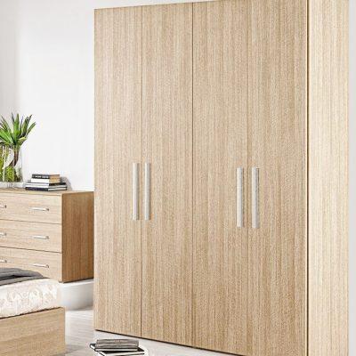 Dulap Mondo 4U, Bardolino, 160x220x50 cm