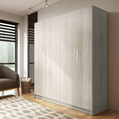 Dulap Nykos, Ferrara, 200x200x50 cm