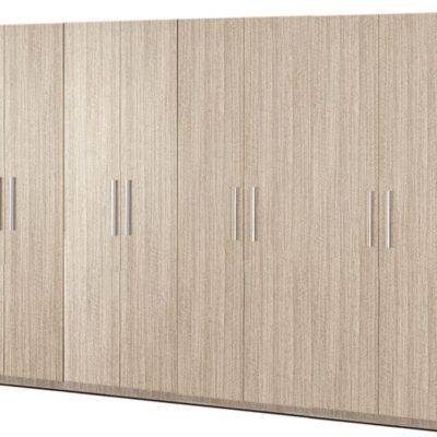Dulap Mondo 8U, Stejar Ferrara, 220x320x50 cm